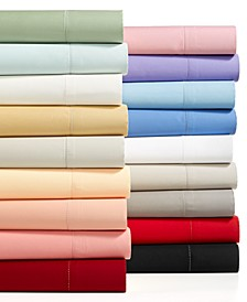 Solid Extra Deep Pocket Sheet Sets, 550 Thread Count 100% Supima Cotton, Created for Macy's