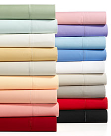 Charter Club Damask Solid Sheet Sets, 550 Thread Count 100% Supima Cotton, Created for Macy's