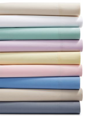 Sleep Soft 3-Pc Twin Sheet Set, 300-Thread Count 100% Cotton, Created for Macy's