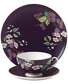 Wedgwood Tea Garden Blackberry 3-pc. Set