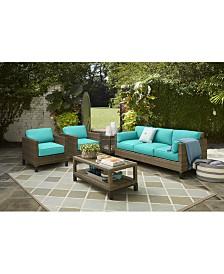 North Port Club Chair Sunbrella® Replacement Cushions, Quick Ship