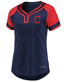 Majestic Women's Cleveland Indians League Diva T-Shirt
