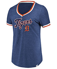 Majestic Women's Detroit Tigers Driven by Results T-Shirt