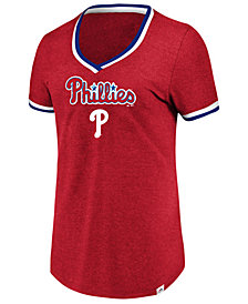 Majestic Women's Philadelphia Phillies Driven by Results T-Shirt