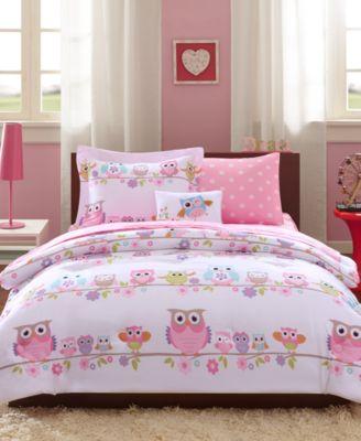 Wise Wendy 8-Pc. Reversible Full Comforter Set