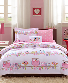 Mi Zone Kids Wise Wendy 8-Pc. Reversible Full Comforter Set