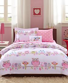 Mi Zone Kids Wise Wendy 8-Pc. Reversible Full Comforter Set
