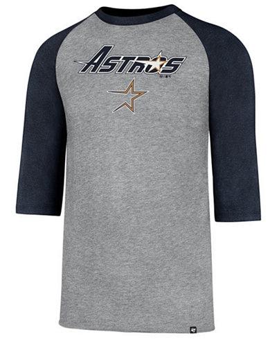 '47 Brand Men's Houston Astros Pregame Raglan T-shirt