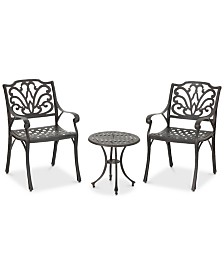 Ashley 3-Pc. Outdoor Chat Set, Quick Ship