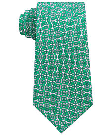Tommy Hilfiger Men's Derby Stirrups Silk Tie