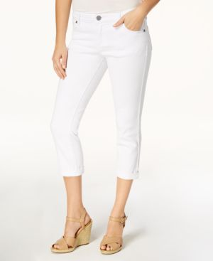 Kut from the Kloth Petite Bardot Cropped Skinny Jeans 5897657