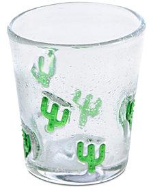 Shiraleah Encanto Cactus Double Old-Fashioned Glass