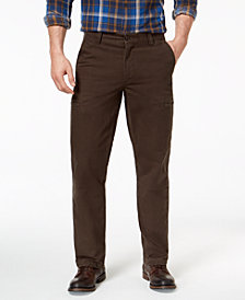 Dockers Men's Utility Cargo Straight-Fit Stretch Khaki Pants