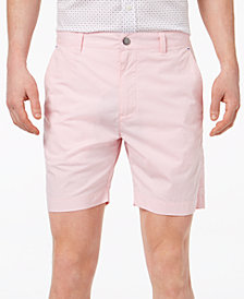"Con.Struct Men's Pink Stretch 7"" Shorts, Created for Macy's"