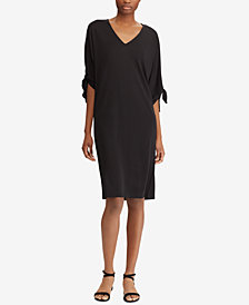 Lauren Ralph Lauren Self-Tie Jersey Dress