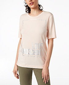 Love Moschino Love Logo Top