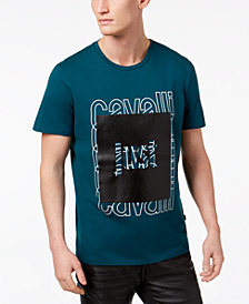 Just Cavalli Men's Logo Appliqué T-Shirt