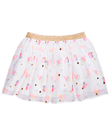 Epic Threads Toddler Girls Printed Tulle Skirt, Created for Macy's