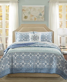 Madison Park Essentials Sybil 8-Pc. California King Coverlet Set
