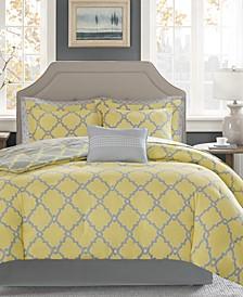 Merritt Reversible 9-Pc. Full Comforter Set