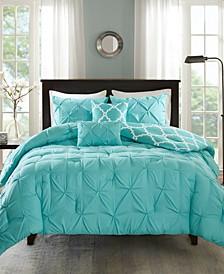 Kasey Reversible 5-Pc. Comforter Sets