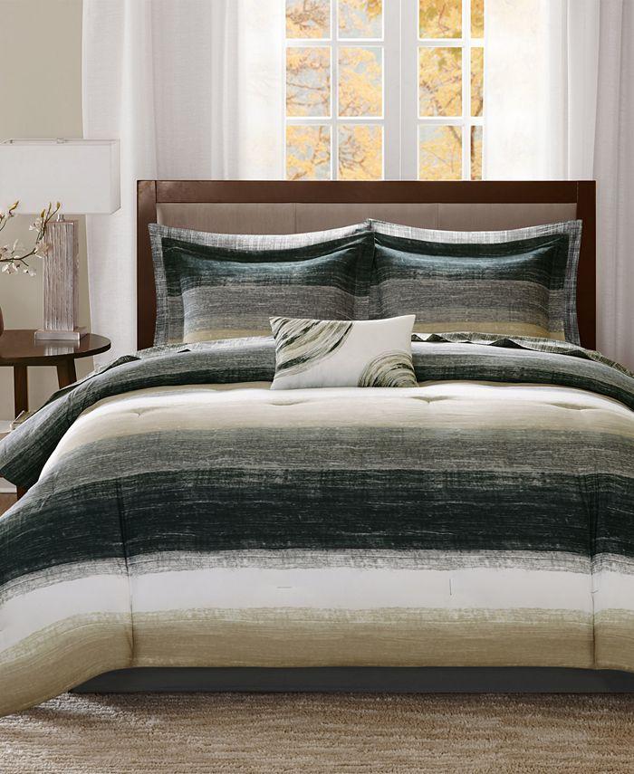 Madison Park - Essentials Saben 9-Pc. King Comforter Set