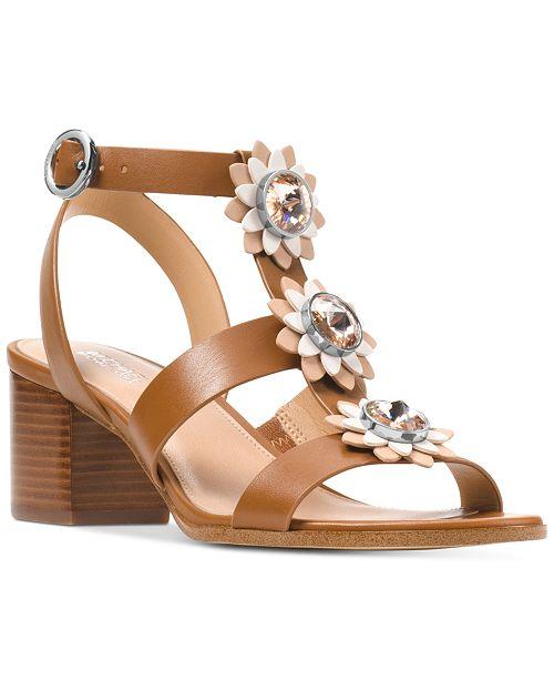 d277800a722 Michael Kors Women s Miley Dress Sandals   Reviews - Sandals   Flip ...