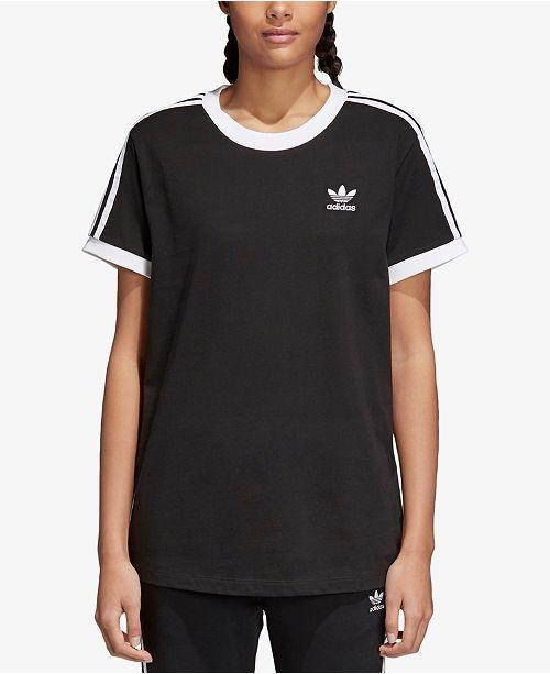 adidas adicolor Cotton Three Stripes T Shirt & Reviews Tops