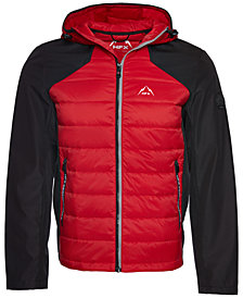Halifax Men's HFX Mix-Media Hooded Ski Jacket