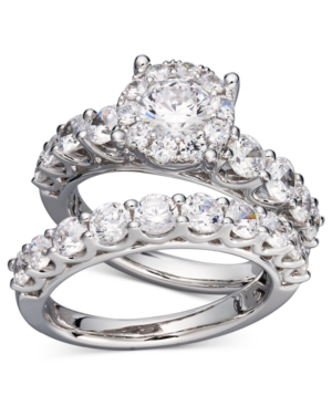 Diamond Bridal Ring Set in 14k White Gold (2 ct. t.w.)