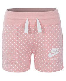 Nike  Little Girls  Printed Gym Shorts