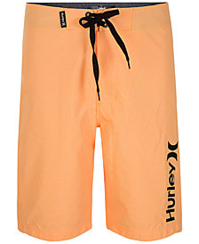 Hurley Heathered One and Only Swim Trunks, Big Boys (8-20)