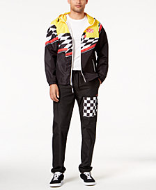DOPE Men's Circuit Master Windbreaker & Jogger Pants Separates