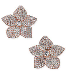 kate spade new york Pavé Flower Stud Earrings