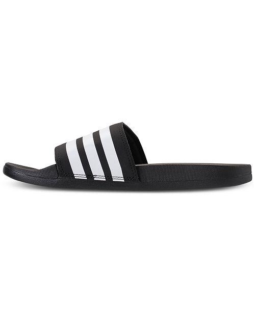 37f675bfd ... adidas Women s adilette Cloudfoam Plus Slide Sandals from Finish ...