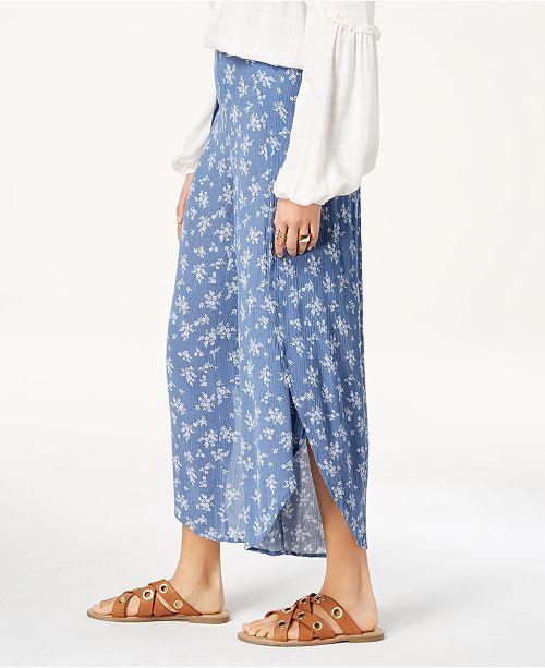 814134ec8 American Rag Juniors' Printed Flyaway Pants, Created for Macy's ...
