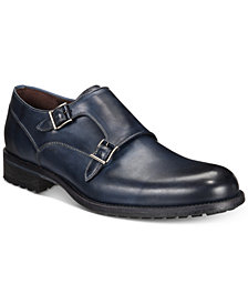 Massimo Emporio Men's Double-Buckle Dress Shoes, Created for Macy's