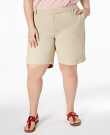 Tommy Hilfiger Plus Size Chino Shorts