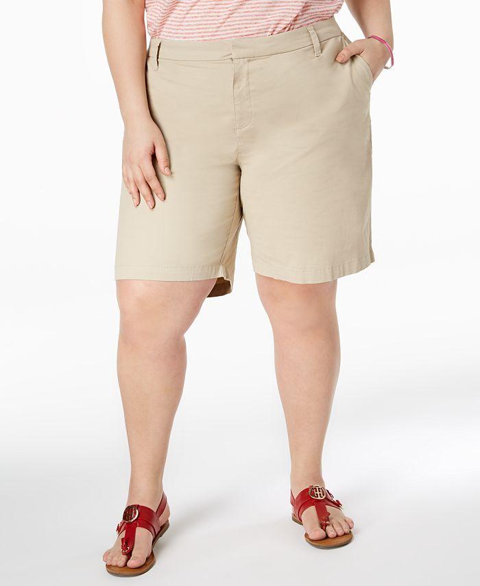 Tommy Hilfiger - Plus Size Chino Shorts