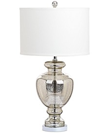 "Morocco Mercury 28"" Glass Table Lamp"