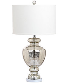 "Safavieh Morocco Mercury 28"" Glass Table Lamp"