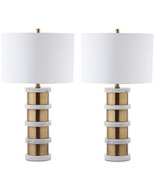 Safavieh Kerouac Table Lamps, Set of 2