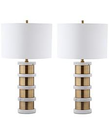 Safavieh Kerouac Table Lamps, Set of 2
