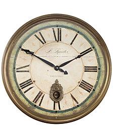 Uttermost Regency B. Rossiter Clock