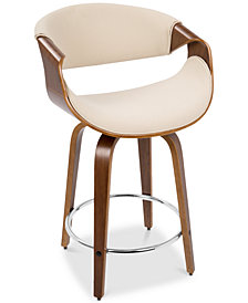 Curvini Counter Stool, Quick Ship