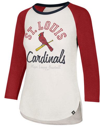 '47 Brand Women's St. Louis Cardinals Vintage Raglan T-Shirt
