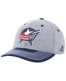adidas Columbus Blue Jackets Heather Line Change Cap