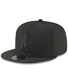Los Angeles Angels Blackout 59FIFTY FITTED Cap