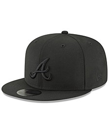 Atlanta Braves Blackout 59FIFTY FITTED Cap
