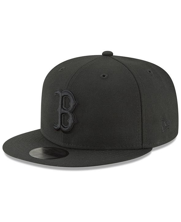 New Era Boston Red Sox Blackout 59FIFTY FITTED Cap